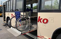 リフト付き送迎バス2