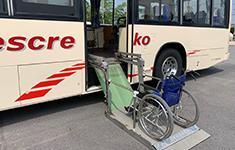 リフト付き送迎バス3